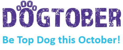 Dogtober be top dog logo