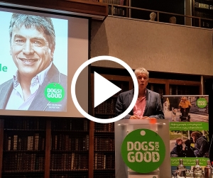 John Inverdale speaking at Power of Dogs