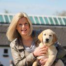 Sky Sports Golf Presenter and Dogs for Good Ambassador Sarah Stirk
