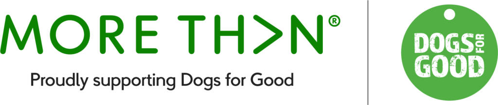 More Than and Dogs for Good's Logos