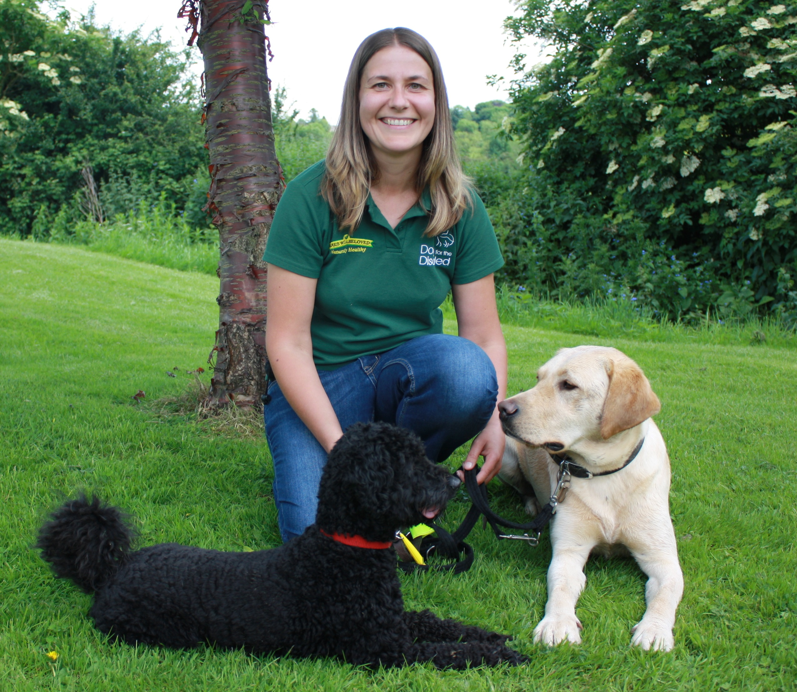New Instructor Gayle begins work with first assistance dogs at