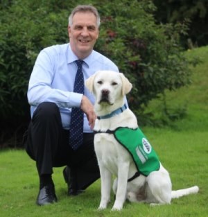 Dogs for Good CEO Peter Gorbing