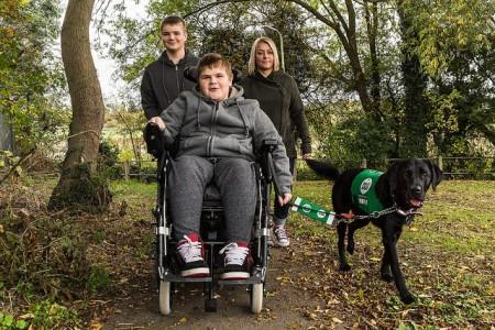 Lisa, Adam, Oliver & Rosie