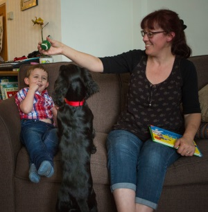 The difference a dog makes to a child with autism