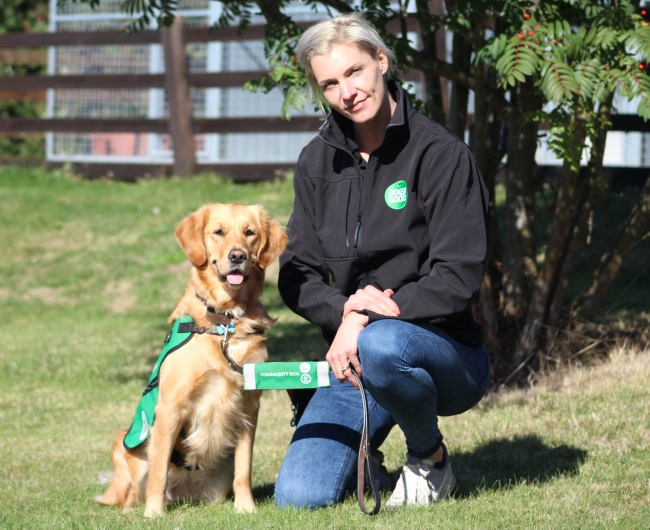 Meet dementia community dog handler Julia