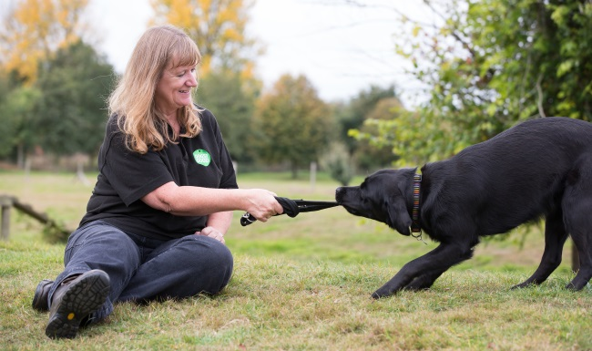 Meet the team - community dog handler Sarah